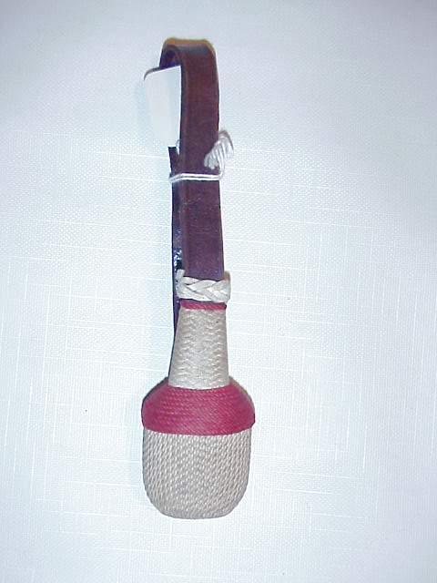 Faustriemen with stem & brown strap.JPG